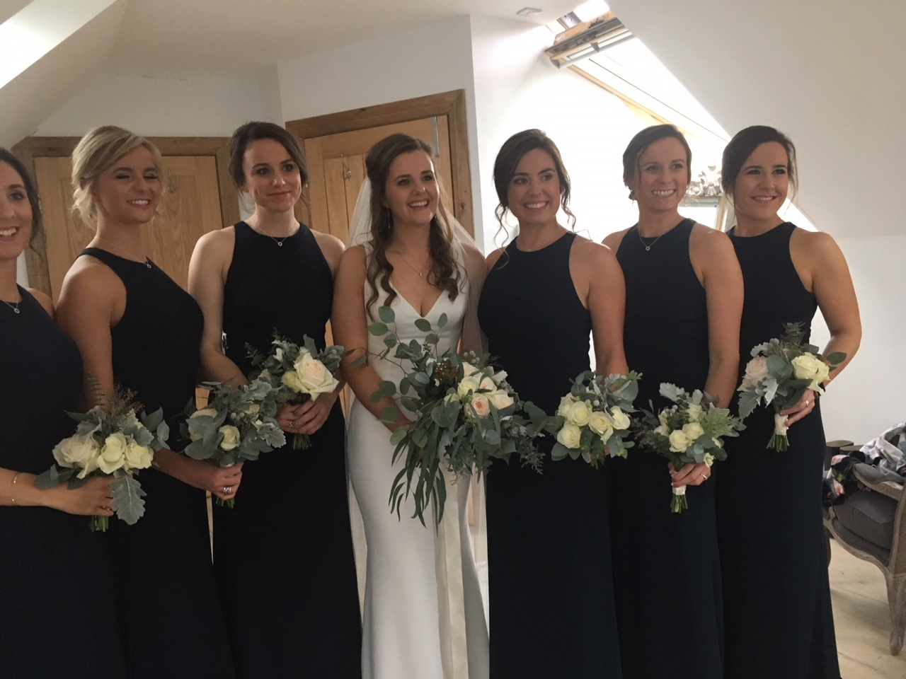 Bridesmaids in Midnight