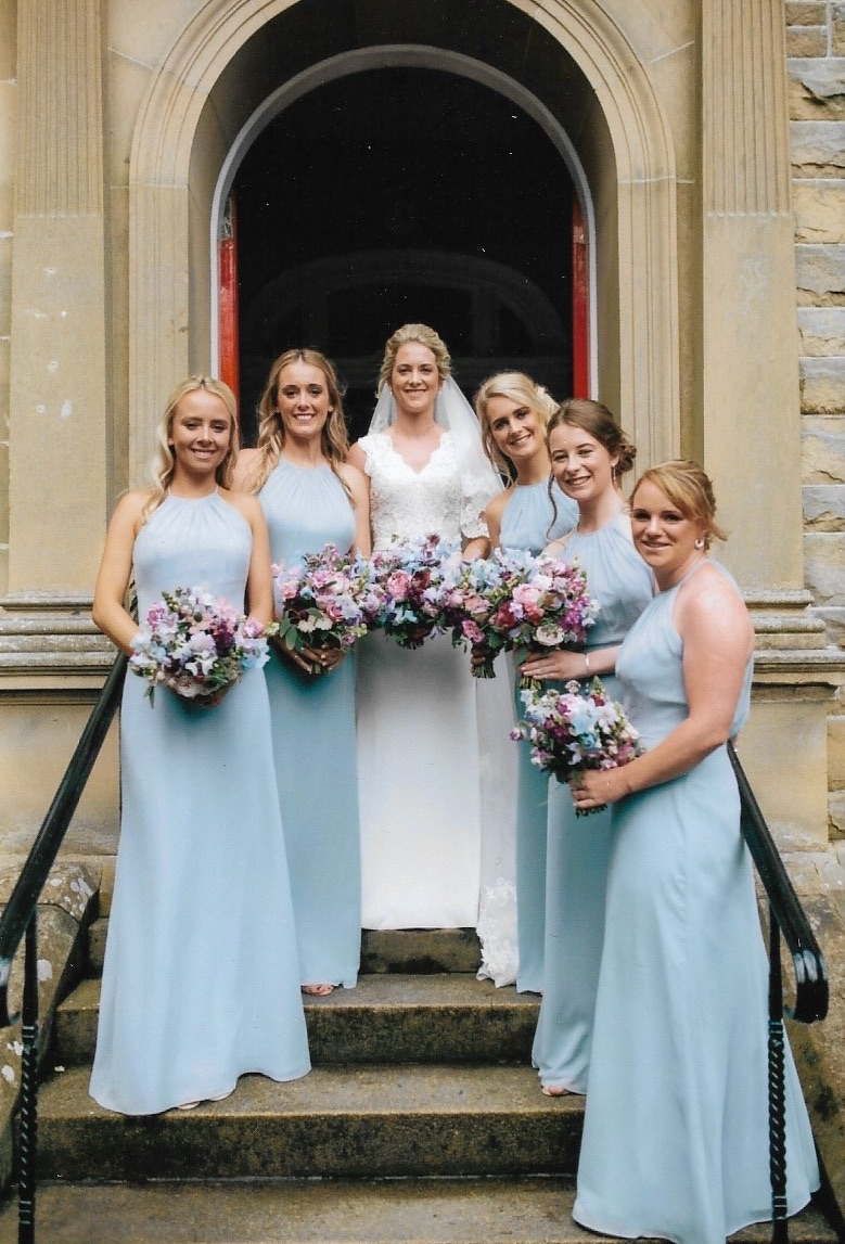 Christie Couture bride & bridesmaids